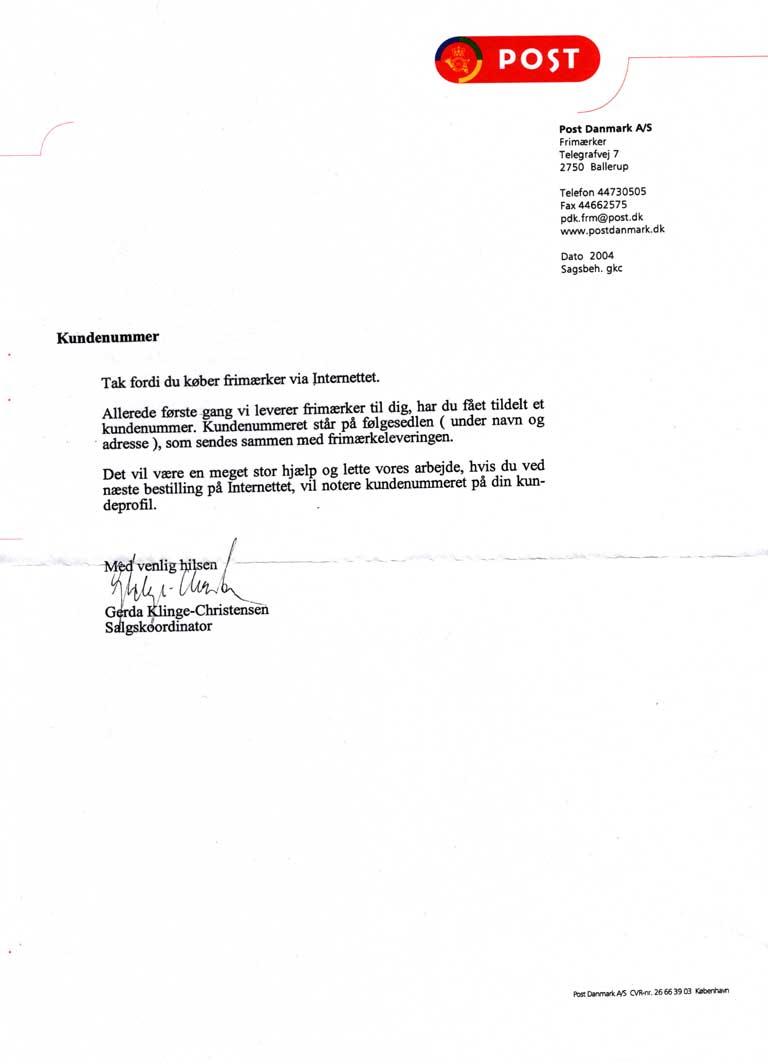 brev post danmark